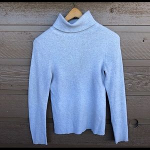 Michael Kors Size Large Turtleneck Pullover Cotton